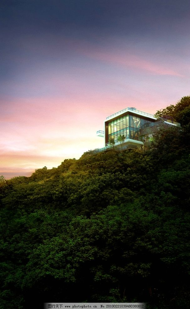 山顶别墅图片