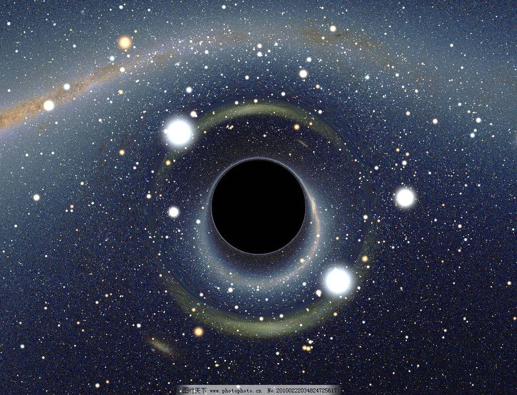 黑洞 星空 宇宙 自然风景 自然景观 摄影