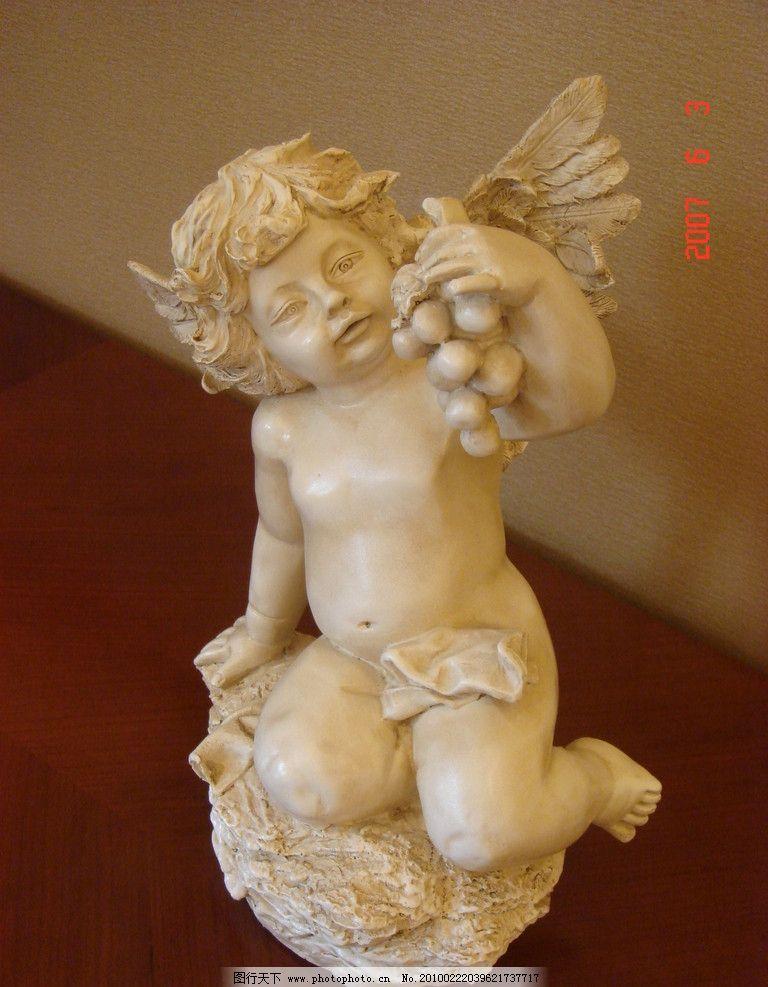 西方雕塑 西方 雕塑 儿童 神话 欧式 房地产 室内摆设 天使 翅膀 石头