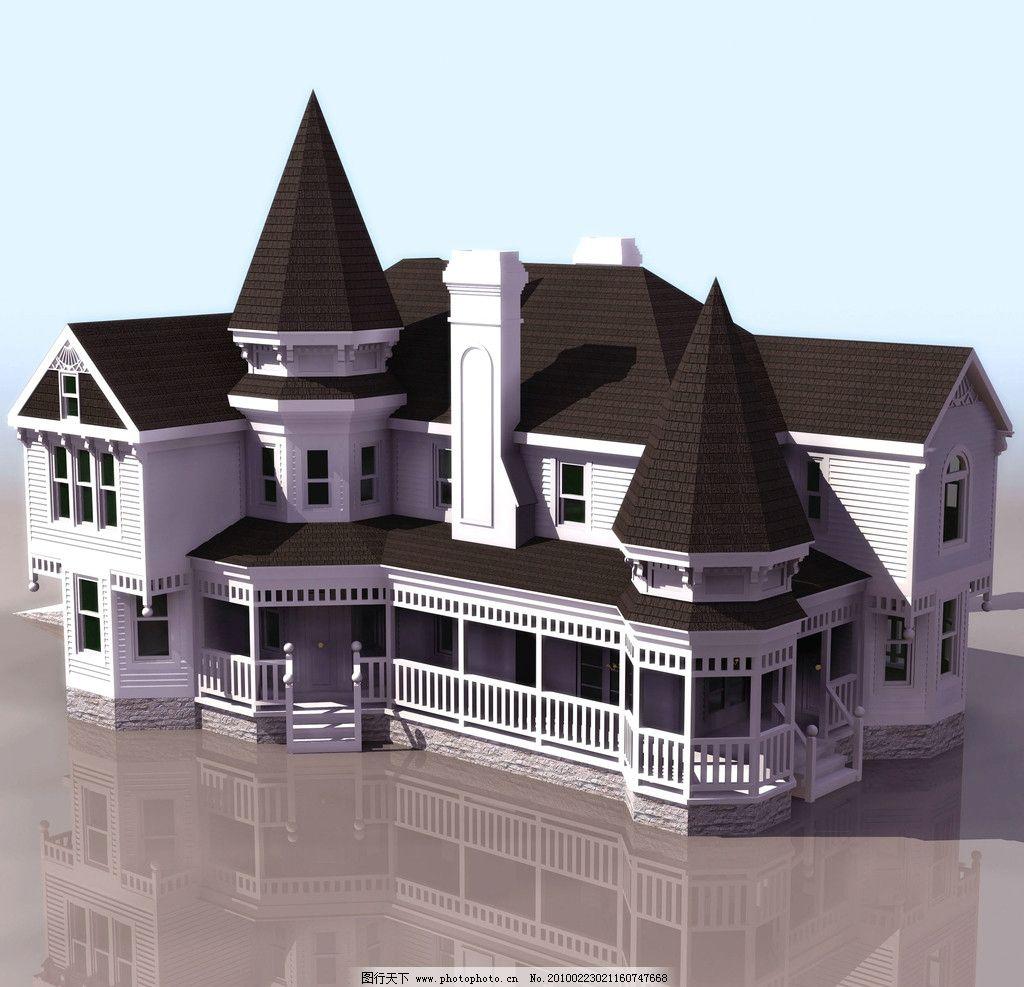 别墅景 建筑设计 别墅 别墅模板 别墅效果图 房屋 楼房 建筑艺术 3d