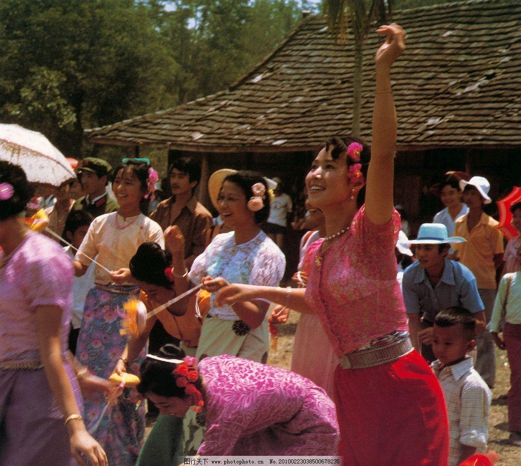 丢包 少女民族 民族文化 风俗文化 傣族 云南 传统文化 文化艺术 摄影