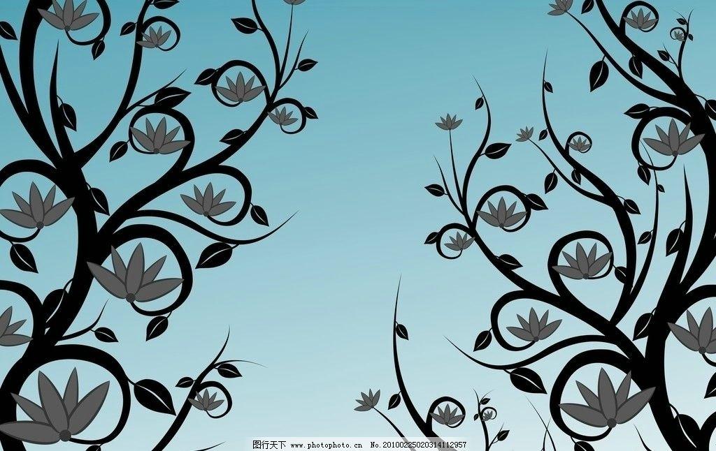 莲花图腾 莲花 花 图腾 图纹 花边花纹 底纹边框 设计 200dpi jpg图片