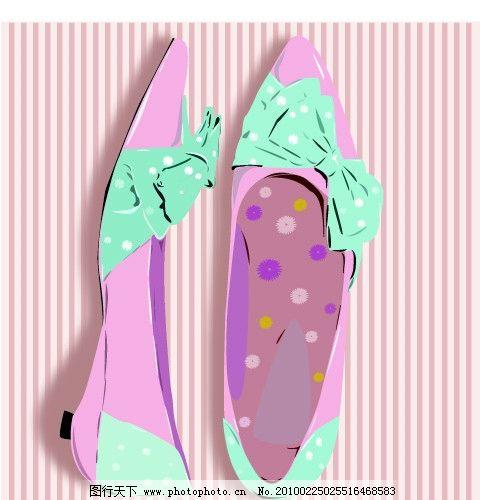 粉色蝴蝶结卡通头像