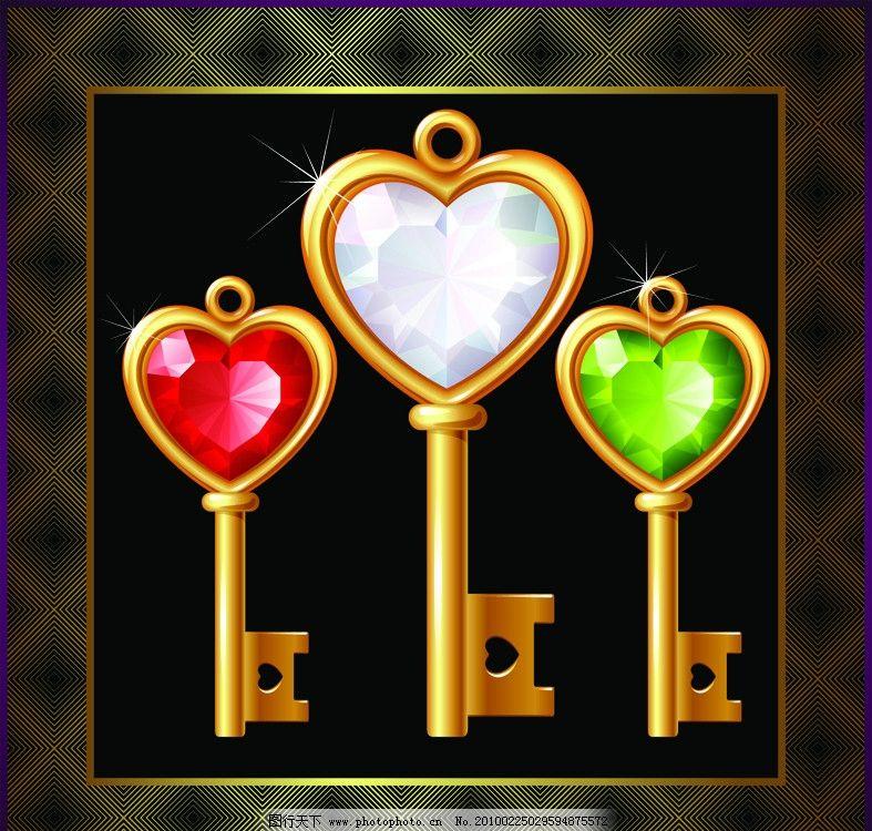 金钥匙 纹理 背景 金边框 画册 海报 地产 经典矢量 广告设计 矢量