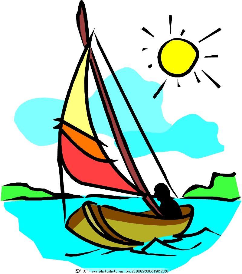 轮船等水上设备0323_现代科技_矢量图_图行天下图库