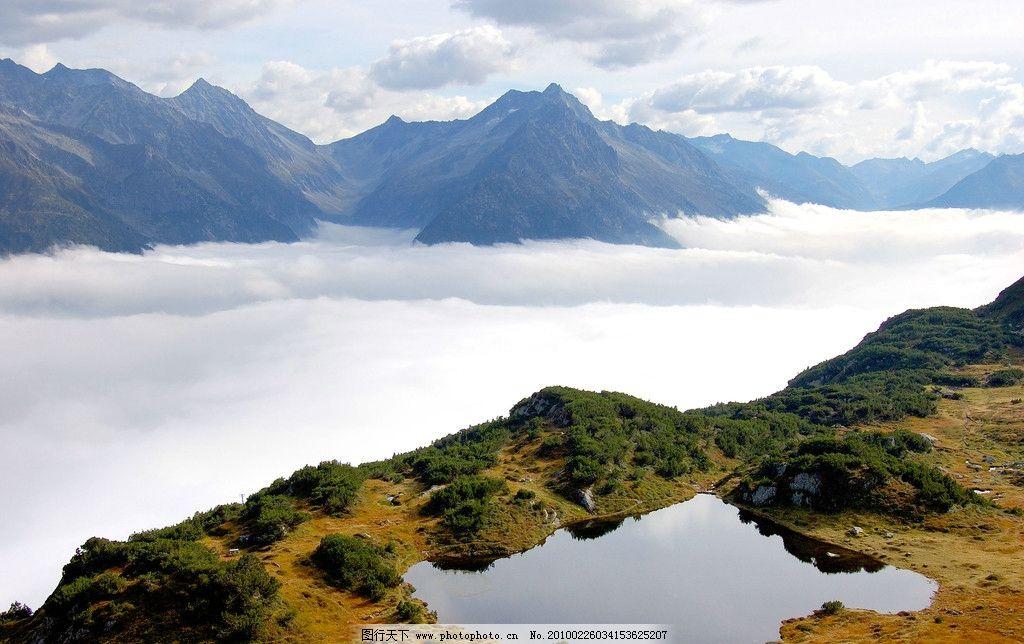 云海图片_自然风景_旅游摄影_图行天下图库