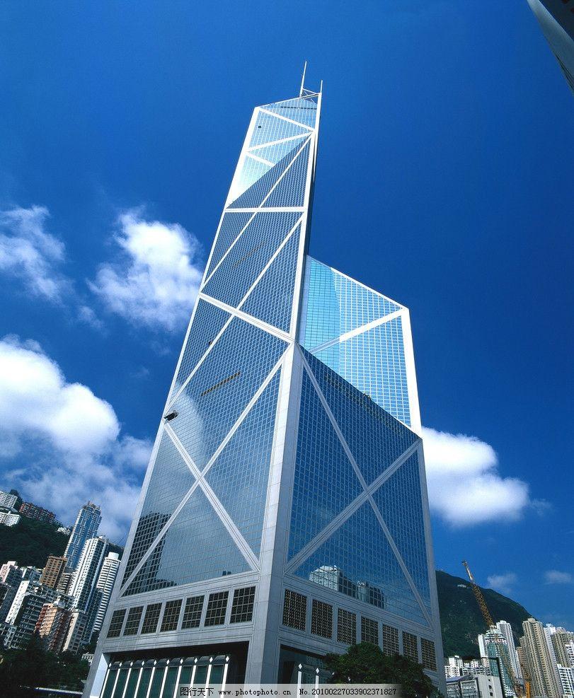 香港中银大厦 建筑 大厦 中银大厦 摩天大楼 国内旅游 旅游摄影 摄影
