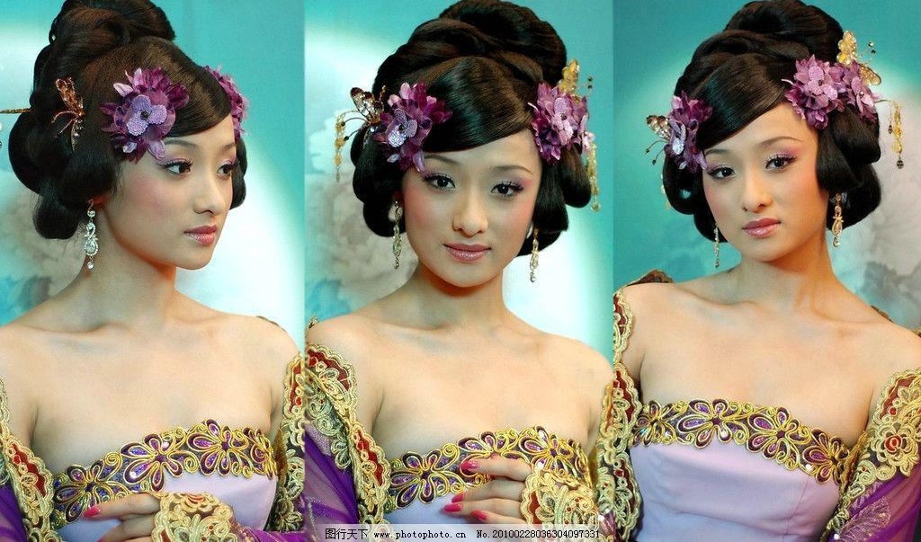 古装美女 古装 美女 壁纸 表情 微笑 传统 服饰 发型 头花 妩媚 典雅