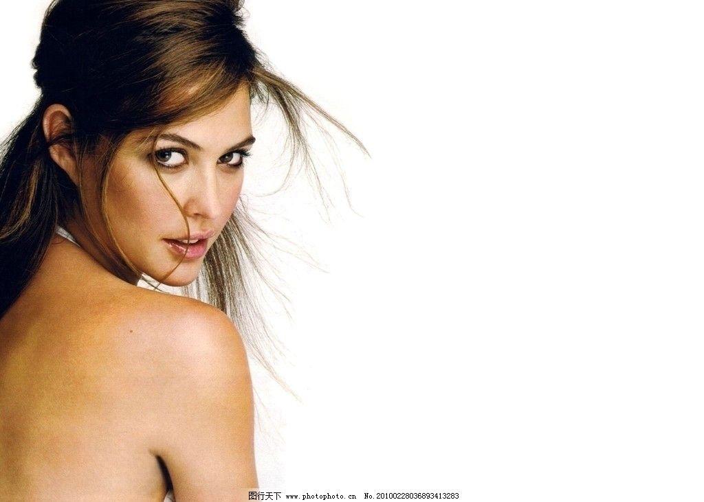女模特的背部照片 头发 美女 外国 背部 美女模特摄影 女性女人 人物