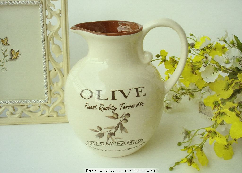 橄榄花瓶水罐 家居装饰摆件 摆设 时尚家居 杯子 花瓶 装饰摆件 餐具