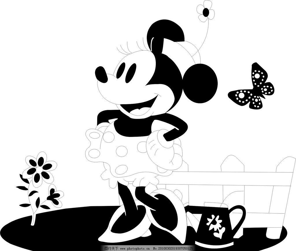 米老鼠 动物 节日 老鼠 儿童节 节日素材 矢量 cdr