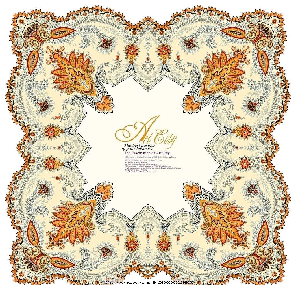 韩式花纹 韩国 花边 地毯纹样 花边花纹 底纹边框