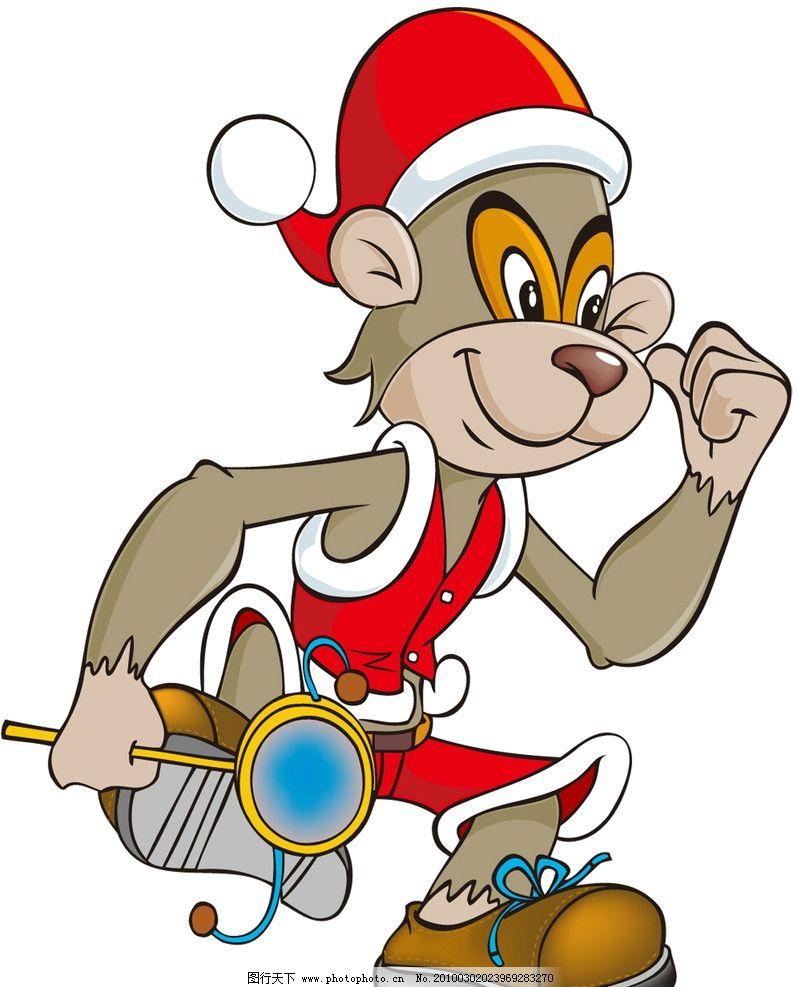可爱 猴子 动画人物