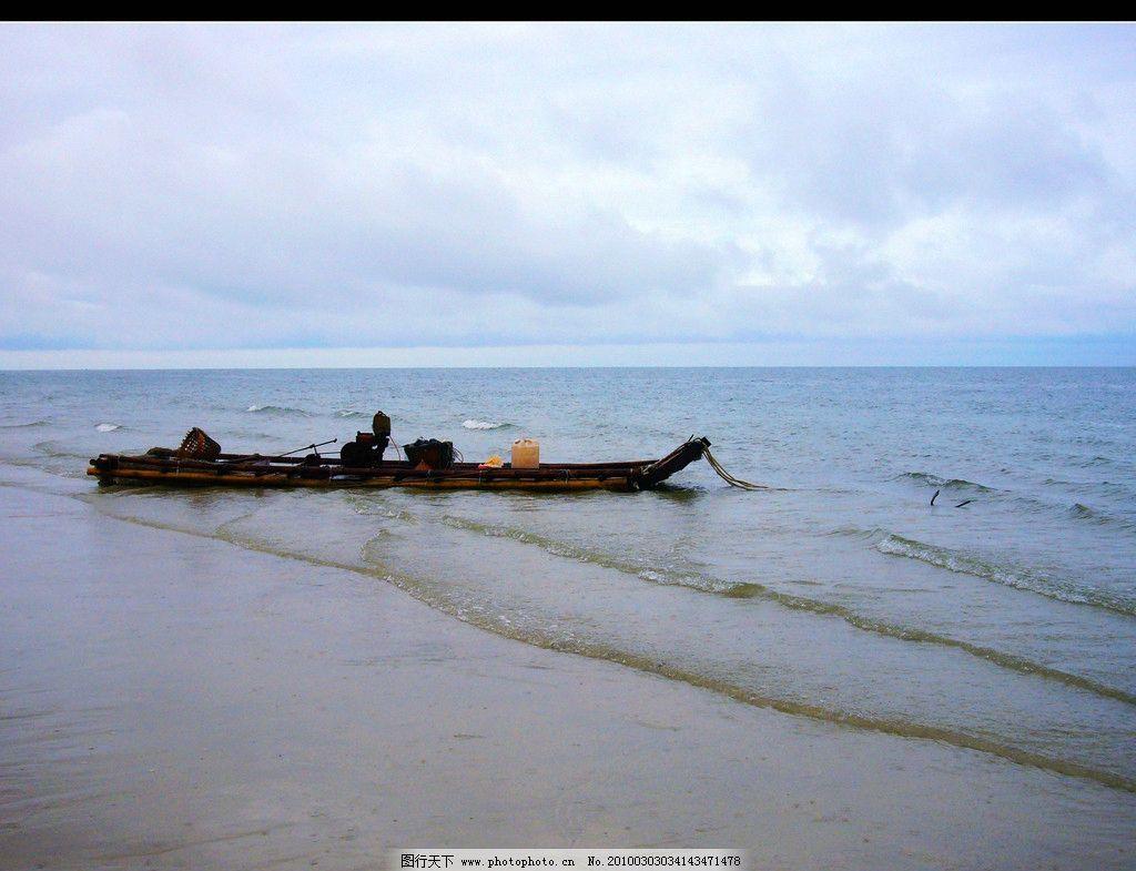 北海银滩 北海 银滩 大海 沙滩 渔船 旅游 自然风景 旅游摄影 摄影 72