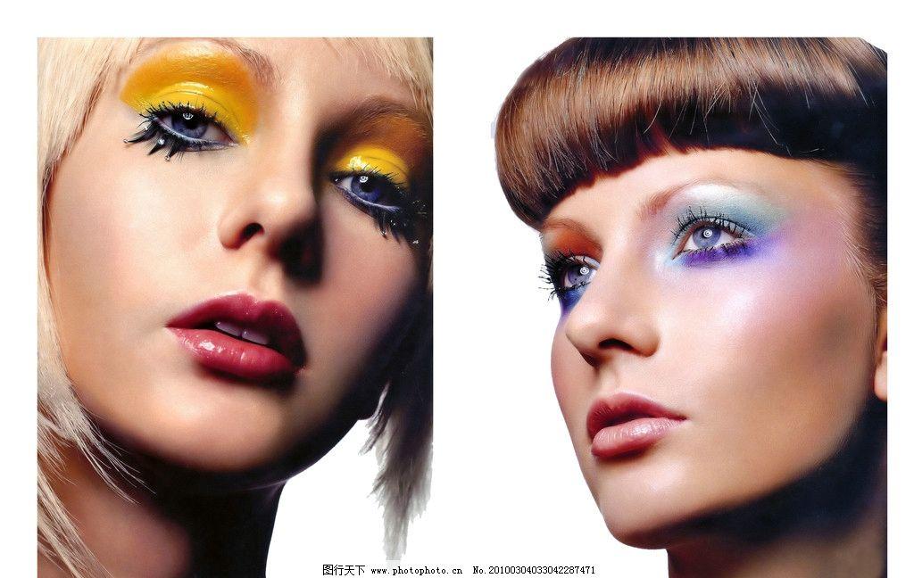 发型 美女 化妆美女图片