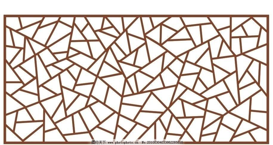 镂空雕花矢量图片,通花 隔断 装饰 密度板雕花 矢量