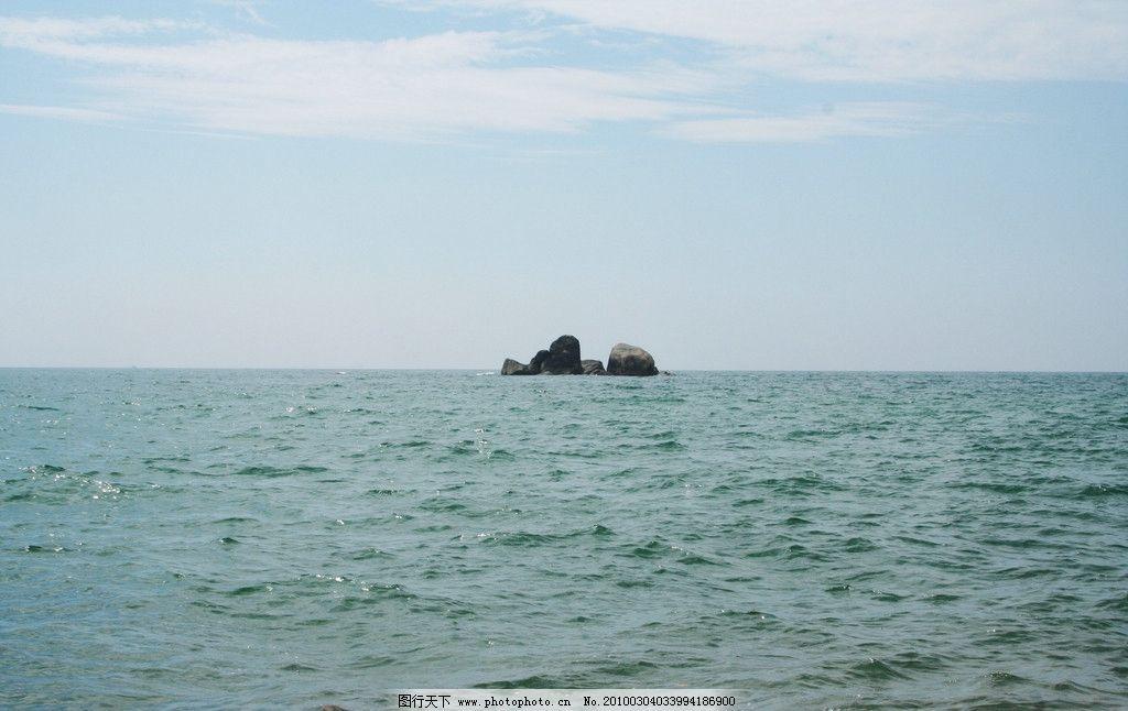 海南旅游风景 海南 三亚 旅游摄影 自然风光 蓝天大海 孤岛 海南三亚