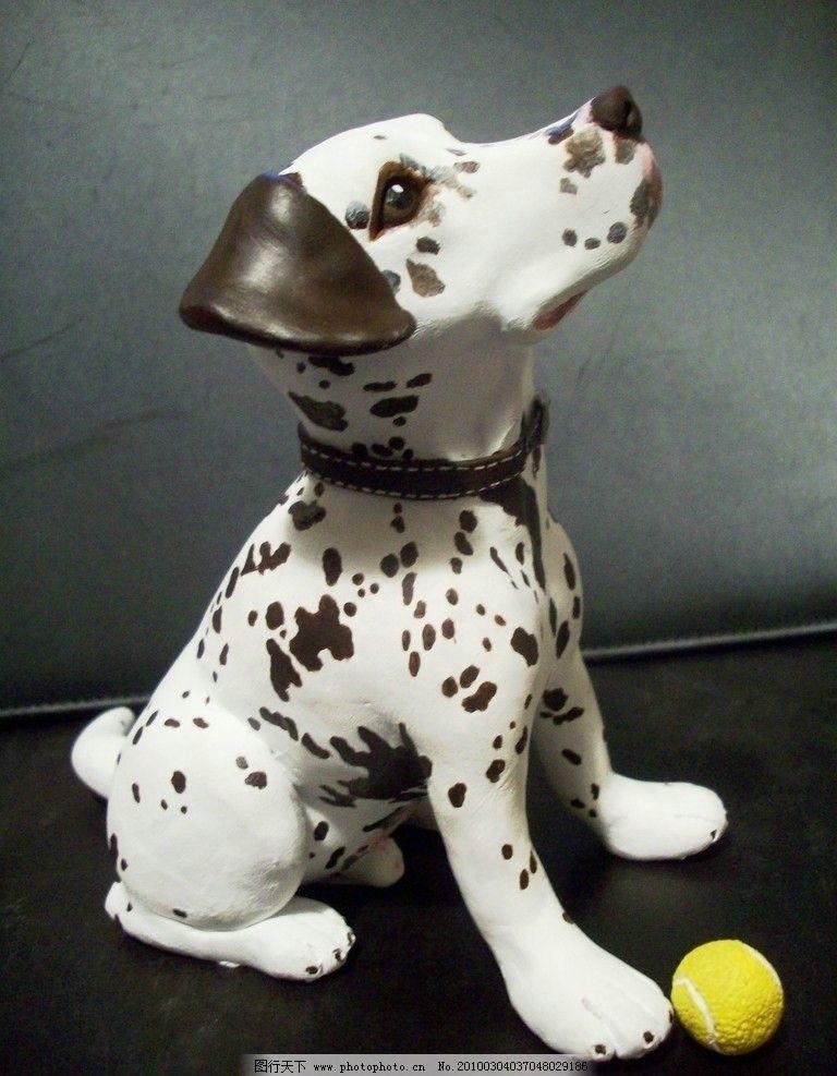 雕塑斑点狗 雕塑 斑点狗 忠狗 动物 卡通 宠物 生活素材 生活百科