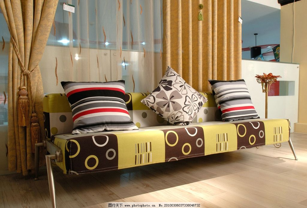 装饰家具沙发 家装 装饰 家具 家居 沙发 精品 设计 黄色 温馨 家居