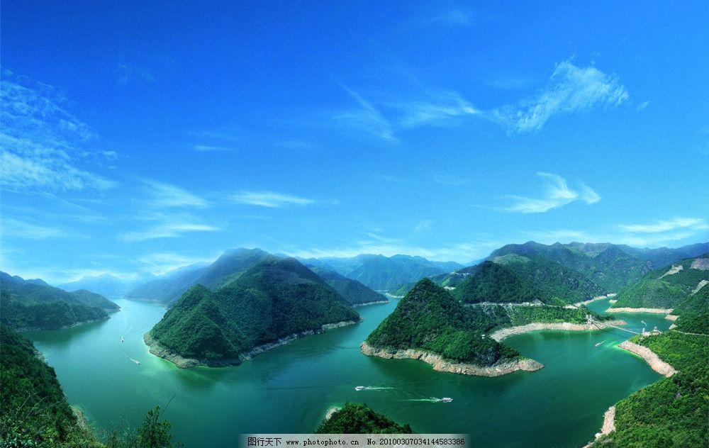 天河风景区 浙东大峡谷 白溪水库 宁波旅游 宁海风光 自然风景 旅游