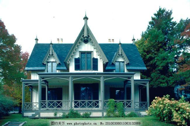 房子 别墅 小洋房 建筑设计 欧式风格