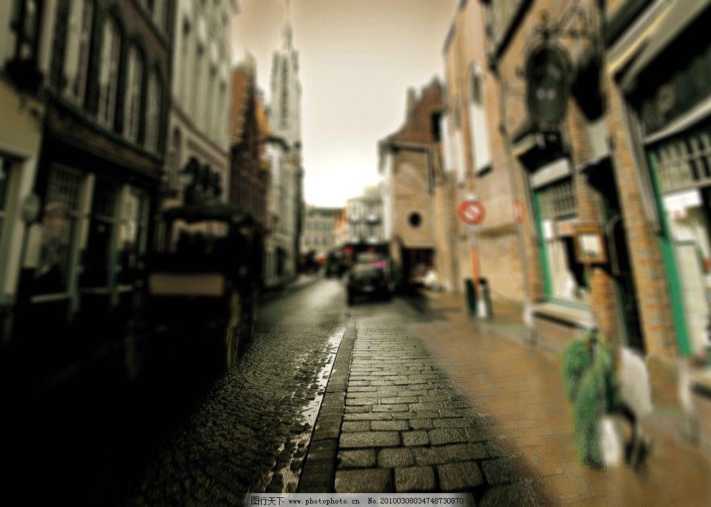 复古 街道图片