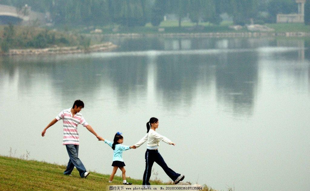 河边风景图片