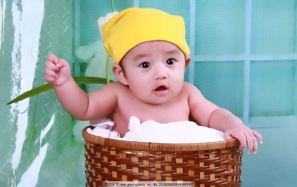 宝宝一百天 婴儿 百日照 可爱 大眼 儿童幼儿 摄影