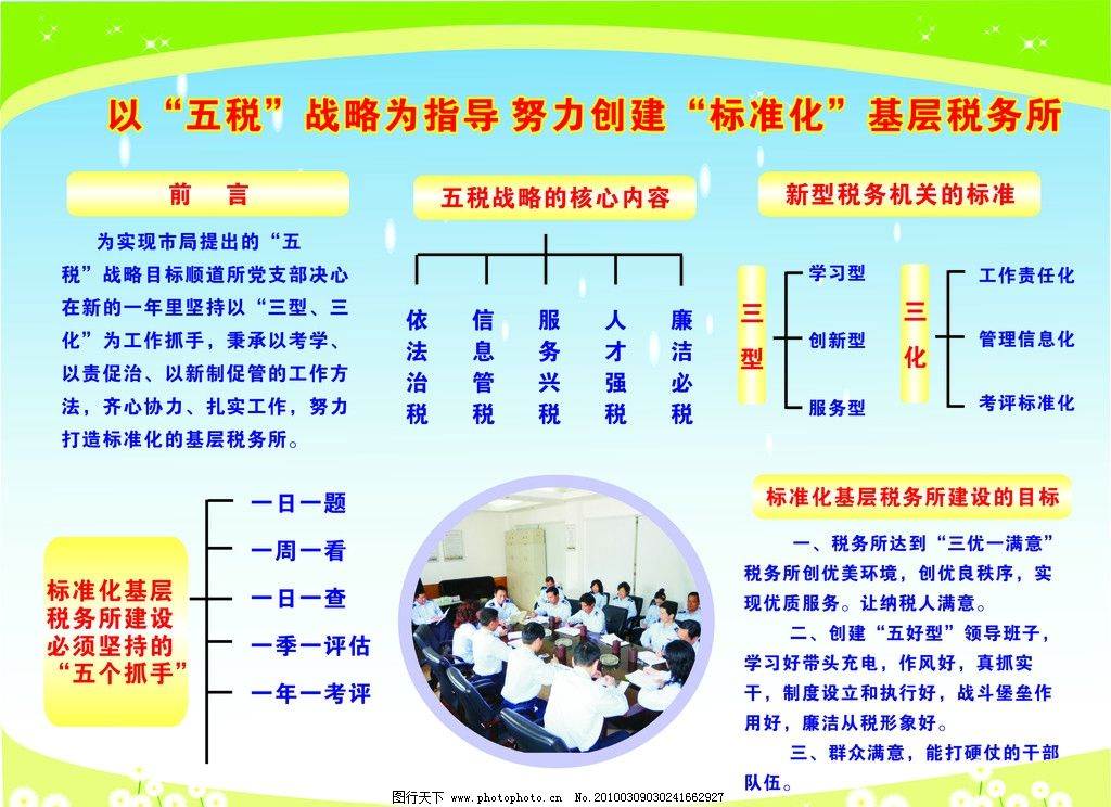地税局展板 五税 展板模板 广告设计 矢量