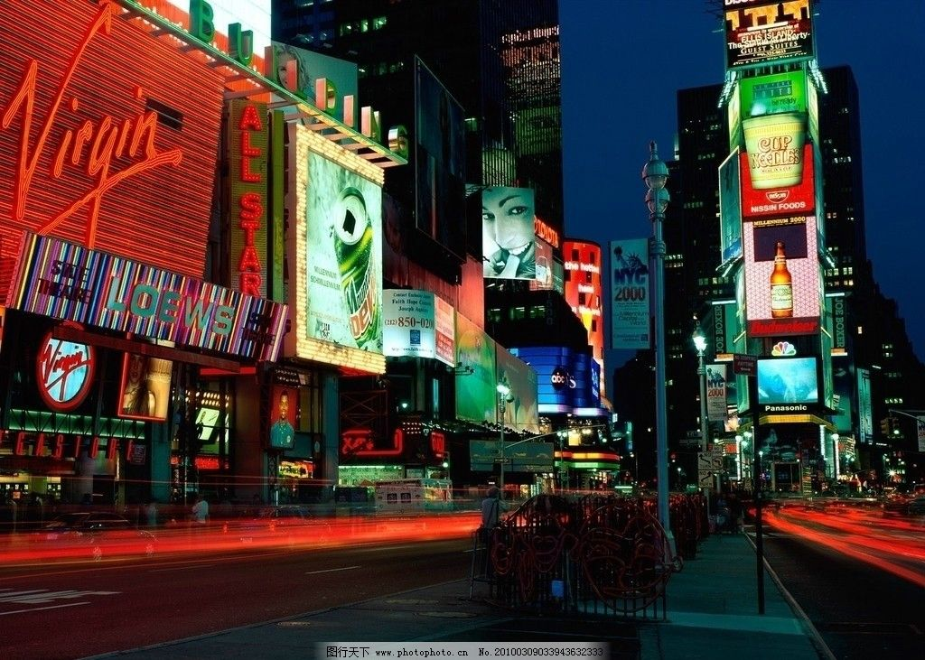 欧美城市街景壁纸图片