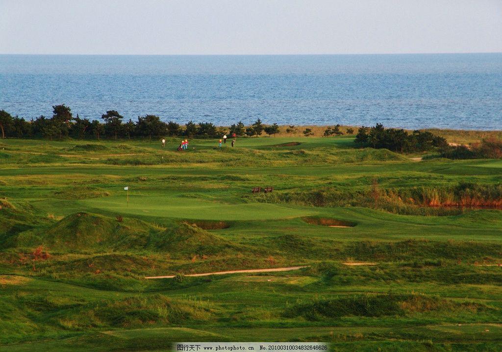 高尔夫球场图片_自然风景_自然景观_图行天下图库