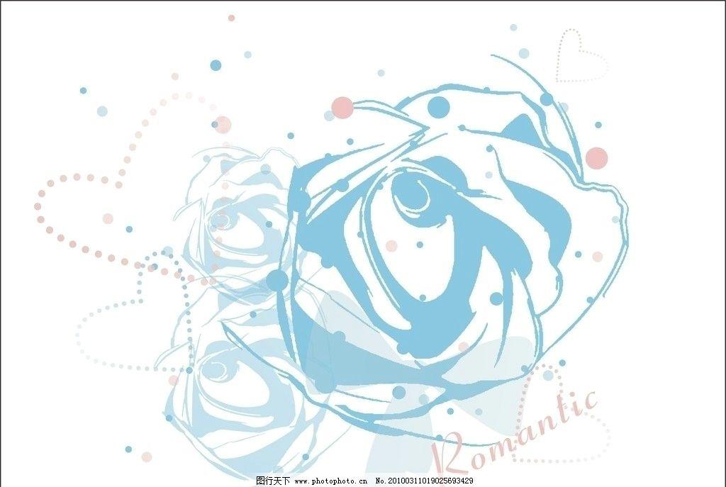 手绘动漫学习玫瑰
