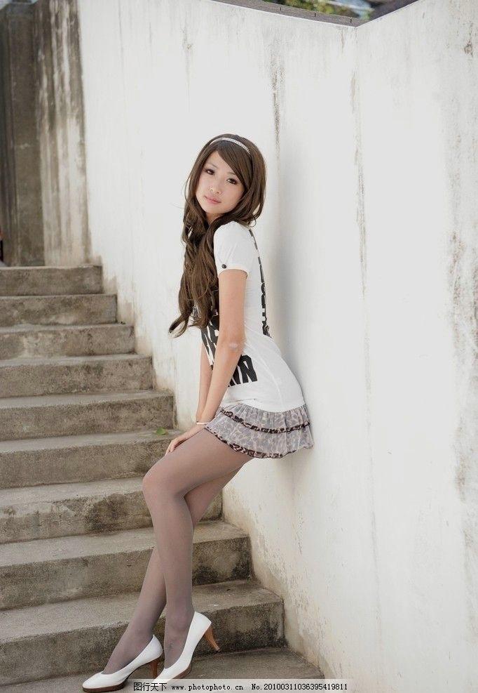 美女小芭 台湾 模特 写真 丝袜 灰丝 美腿 美眉 清纯 可爱 时尚 清晰 漂亮 美丽 女生 女孩 化妆 长发 室外 人物摄影 人物图库 摄影 200DPI JPG