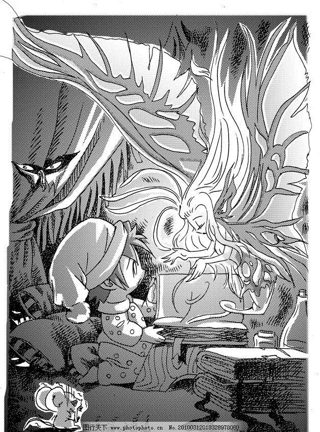 精灵 小精灵 小可爱 漫画 人物 卡通 小老鼠 魔幻 蝴蝶精灵