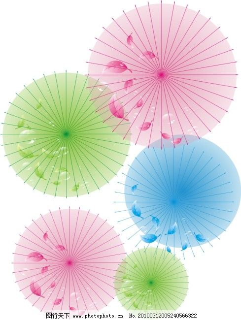 底纹 伞 水珠 底纹免费下载 淡色背景 树叶 叶子 矢量图 花纹花边