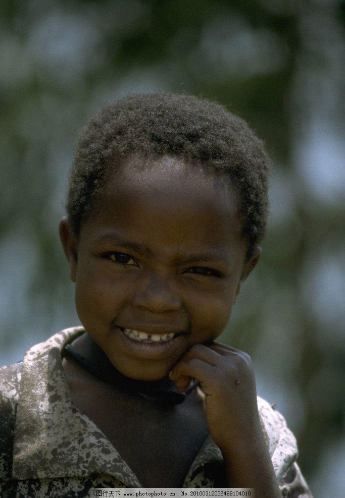 非洲小女孩图片