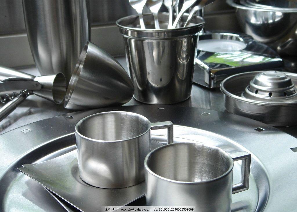 不锈钢餐具图片