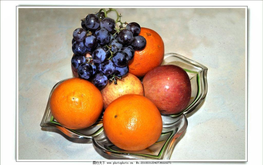 水果一盘图片