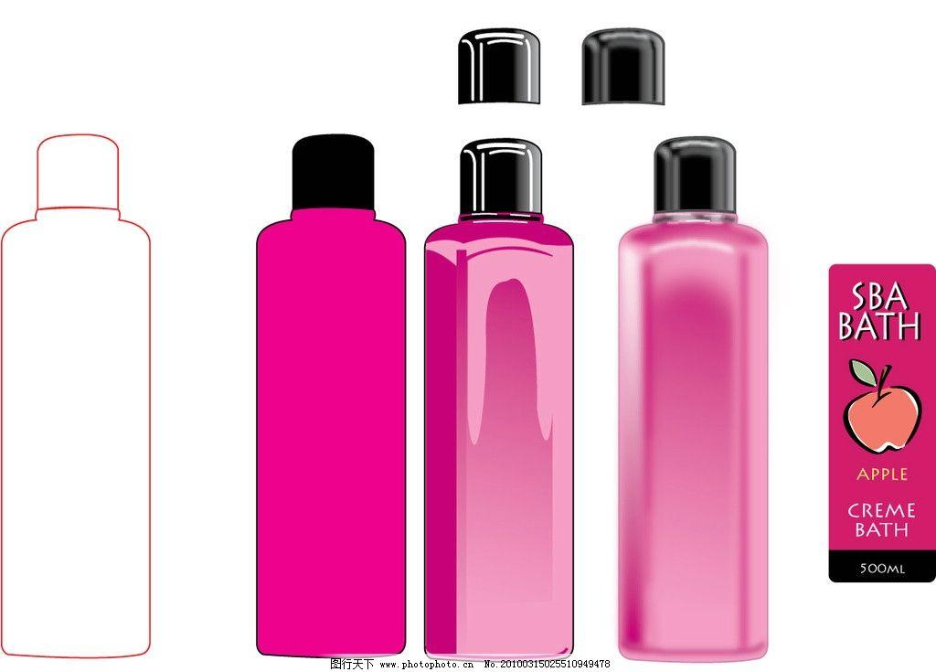 洗发水瓶子图片