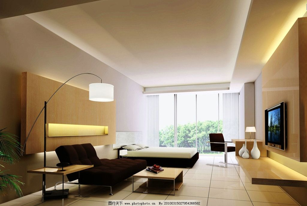 客厅效果图 建筑设计 室内设计 室内装饰 客厅布置 墙饰 天花 地板 沙