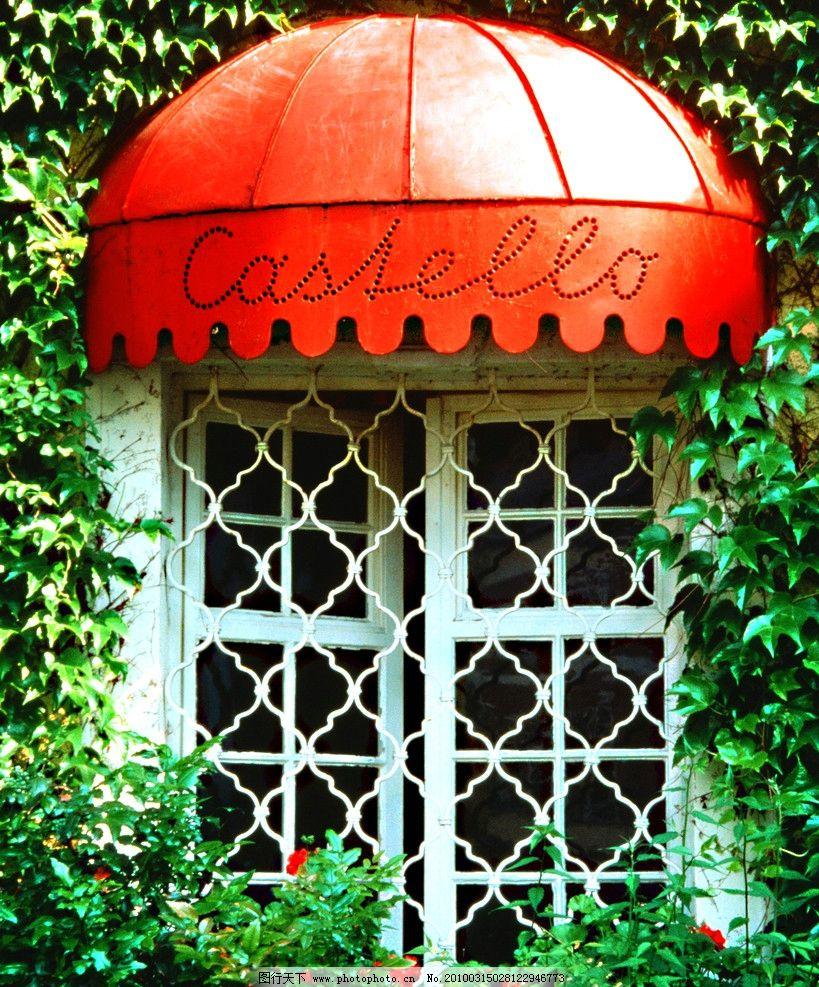 花篮 窗户 欧式 装修 参考图 别墅 环境设计 室外设计 装饰图 国外