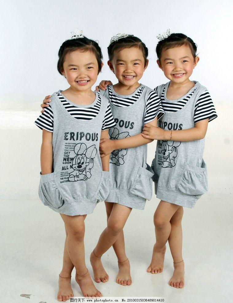 可爱幼童 人 幼儿 女幼童 三姐妹 三胞胎 bb 幼稚 宝贝 健康 成长