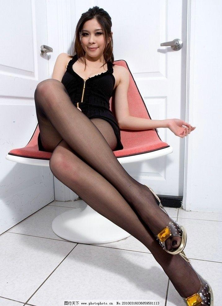 美女 美腿 模特 短裙 性感 丝袜 高跟鞋 漂亮 白皙 清纯 可爱 长发 超