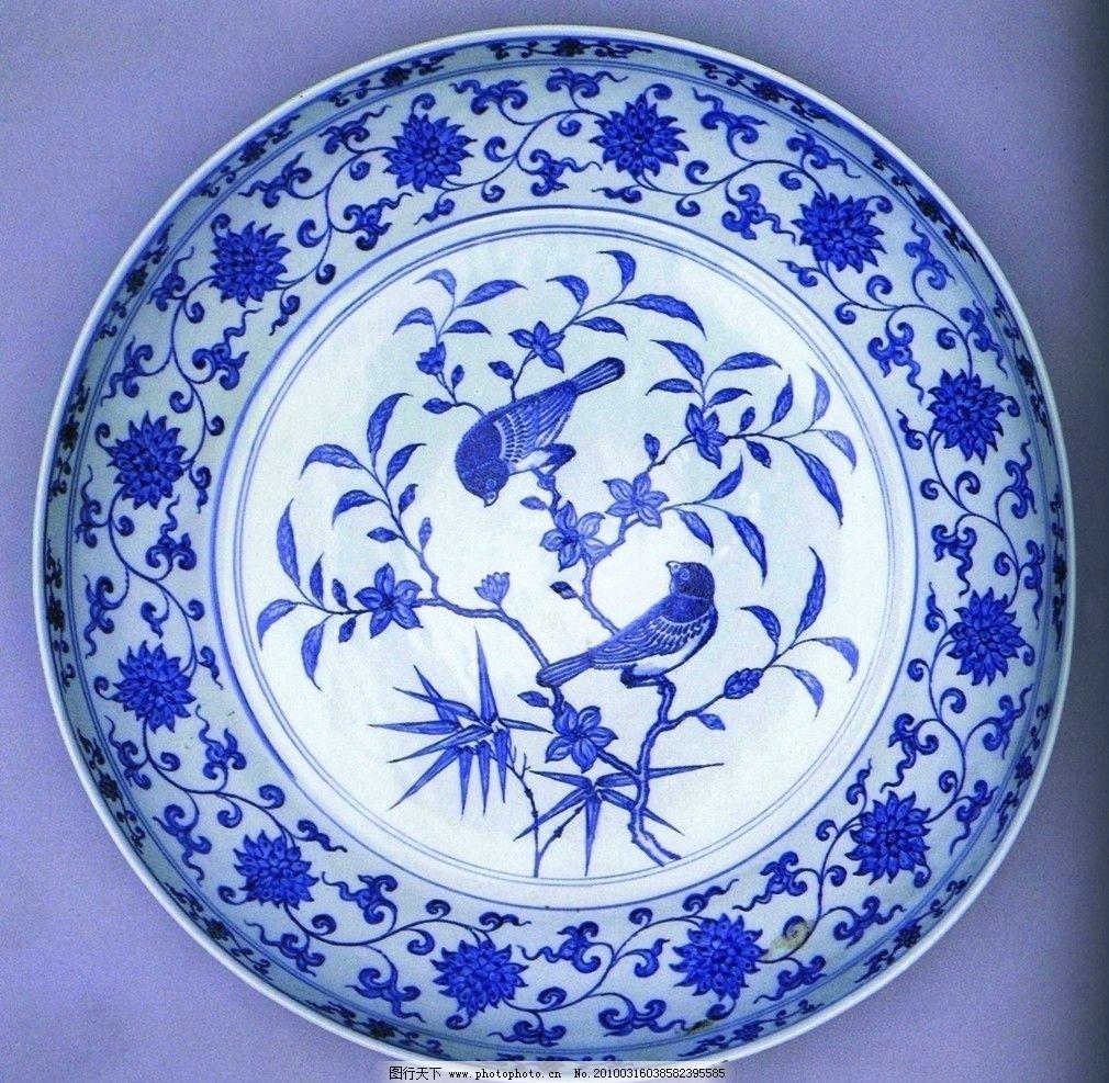 瓷器艺术 盘子 花纹 jpg 传统文化 文化艺术 摄影 72dpi
