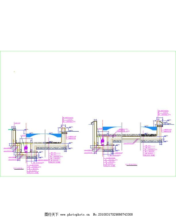 音乐喷泉设计图图片