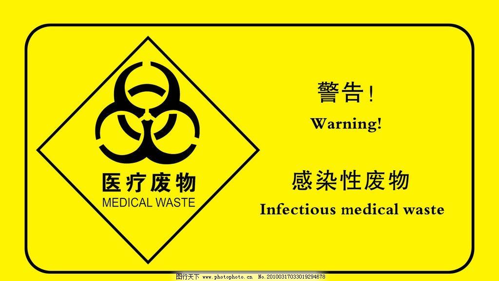 医疗废物安全标示图片图片