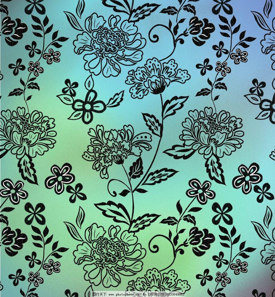 花纹3 布纹花样 连续图案 背景花纹 印花布 矢量花纹 原创 源文件