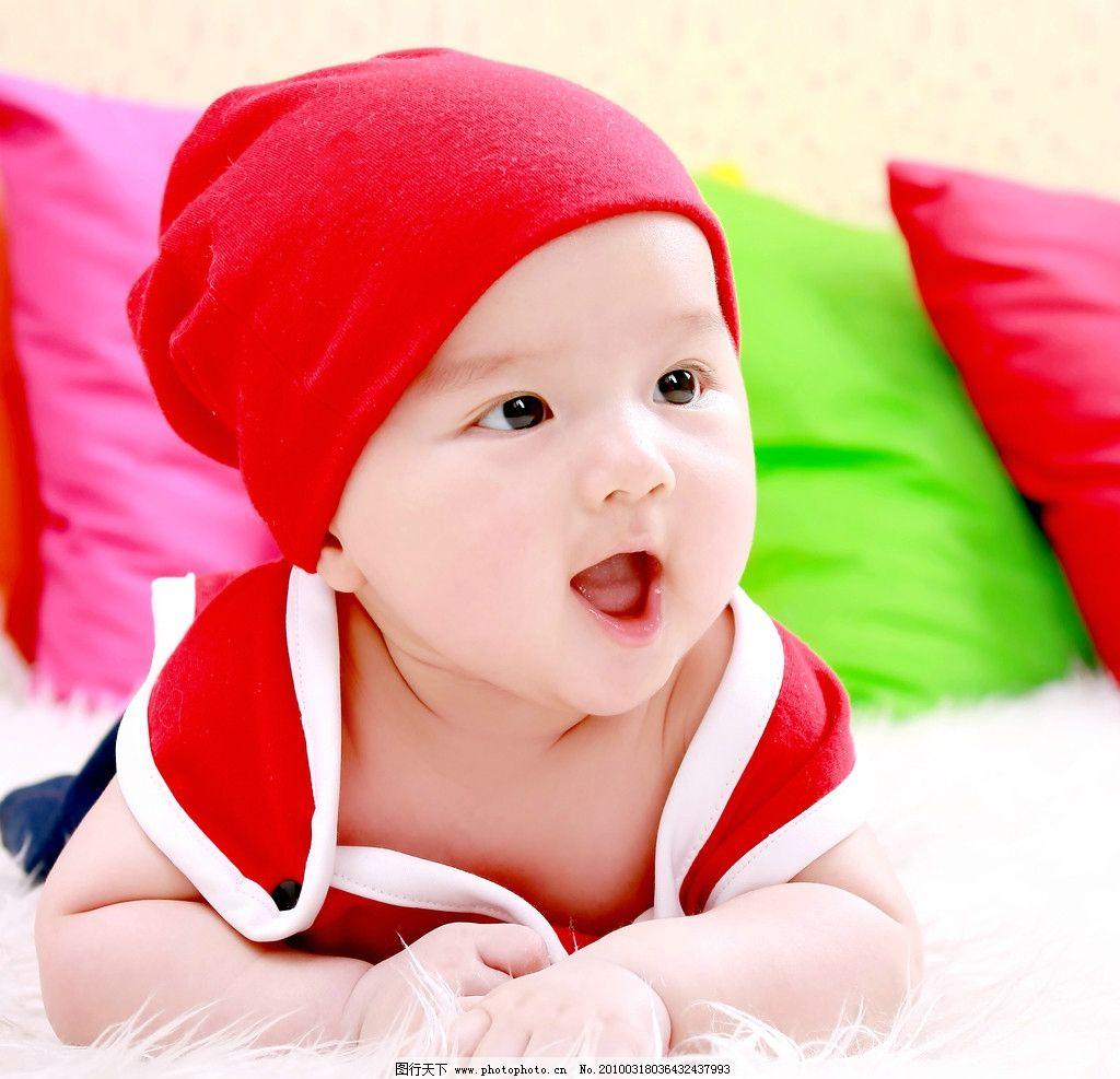 可爱宝宝 艺术照图片