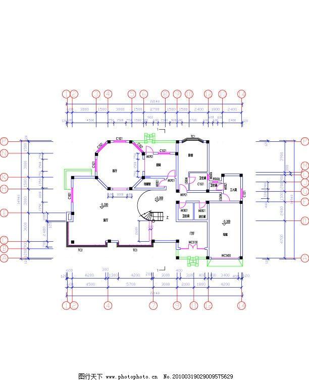 房屋 平面图           工人房 餐厅        设计图 cad 其他 建筑