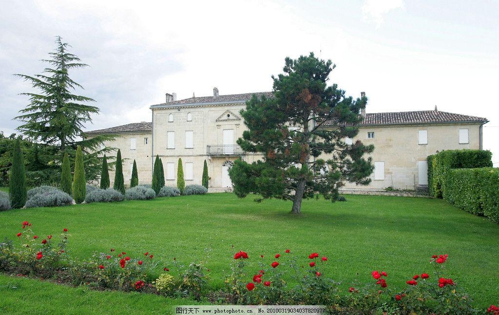 乡村别墅 欧式建筑 绿色植被 园林建筑 国外旅游 旅游摄影 摄影 300